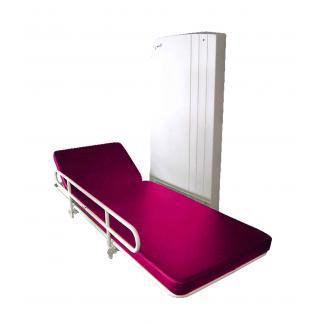Table d'habillage à hauteur variable électrique