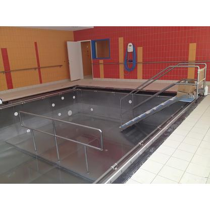 Balnéothérapie bassin inox monobloc