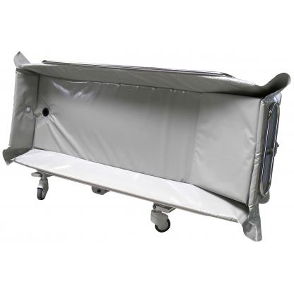 Chariot de douche Crystal à hauteur variable électrique