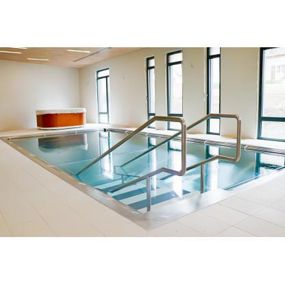 Balnéothérapie bassin inox modulaire
