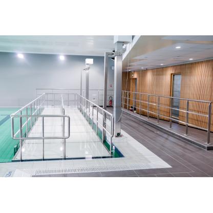 couloir de marche double reeducation balneotherapie