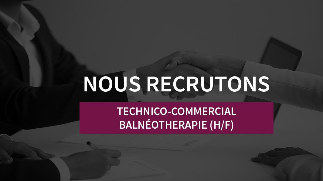recrutement technico commercial balneo
