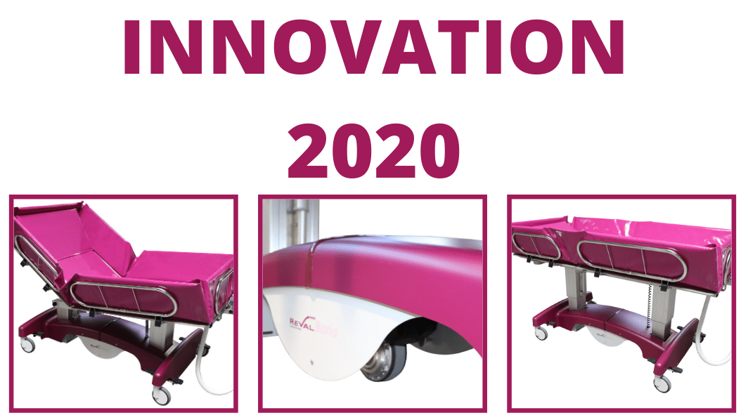 L'innovation France Reval 2020 - Le chariot douche BARIA
